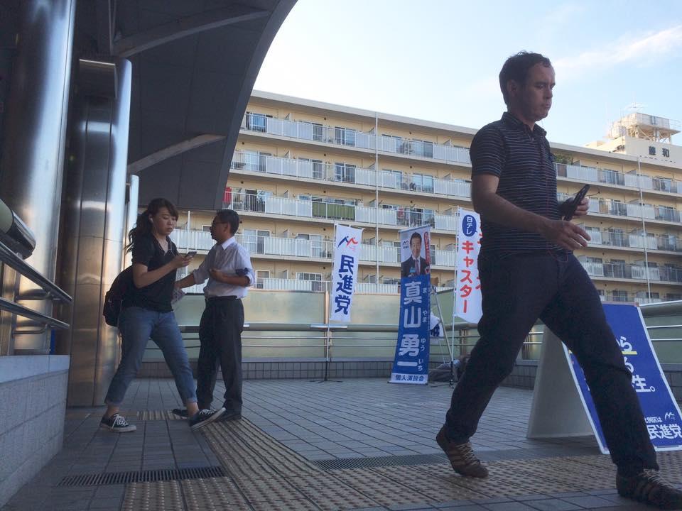 20160706秦野駅夕立